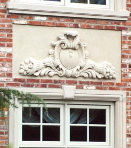 Cast Stone Ornamental Panels